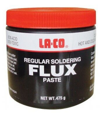 Laco Plumbers Soldering Copper Pipe Flux One Small Pot Plumbing Flux