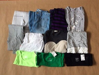 Mixed Lot Of Girls Clothes Gap, Justice, Crew Cuts.  Size 8