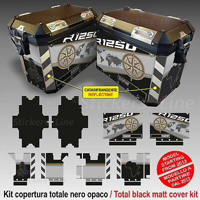 Kit COMPLETO adesivi compatibili valigie BMW R1250 ADV Exclusive bags stickers