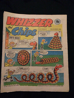 Whizzer and Chips comics - 1981-1983 - 22 issues