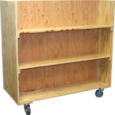 Wooden Moving Cart Double Sided