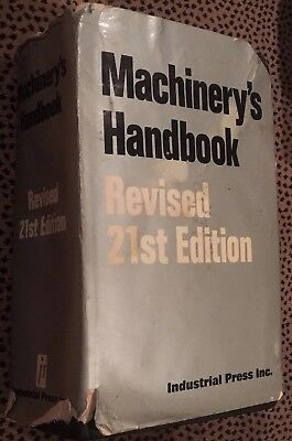 Used Machinery`s Handbook  Revised 21st Edition