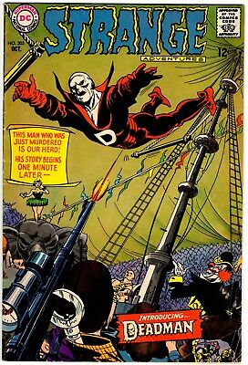 Strange Adventures #205: 1st appearance of Deadman