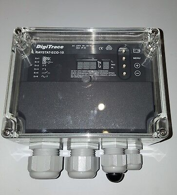 DigiTrace Raystat-Eco-10 Energy Saving Frost Protection Controller