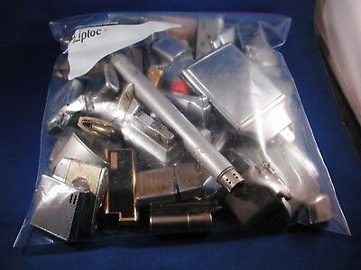 Huge Lot of Vintage Lighters for Parts or Repair .  NO RESERVE !!