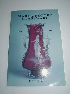 Antique Reference Book Mary Gregory Glassware by R & D Truitt