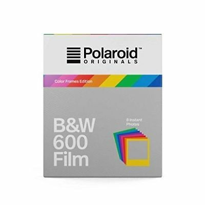 Polaroid Originals B&W 600 Film for 4670 Color Frames