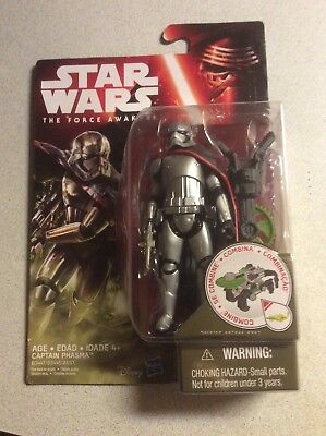 "Star Wars The Force Awakens Captain Phasma 3.75"" Action Figure Package Damaged"