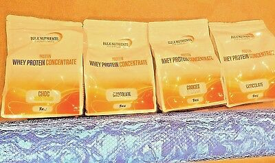 Bulk Nutrients Whey Protein Concentrate Powder WPC 1KG Factory Sealed