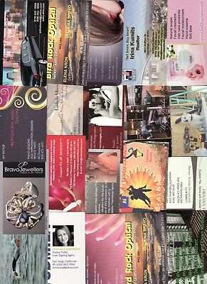 LOT of 25 DIFFERENT  REAL ESTATE BUSINESS CARDS for collection