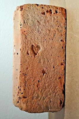 """Very Early Primitive Antique Brick   """"a Small Heart""""   From Connecticut"""