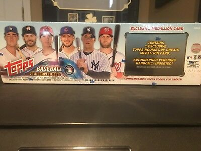 2018 Topps Baseball Complete Set  with RC Variations and Medallion Card Acuna ??