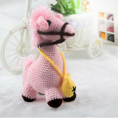 Doll Stuffed Toy Horse Knitting Crochet Kit Embroidery Adults Starter Tool