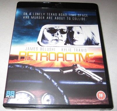 Retroactive Blu-ray Disc James Belushi 88 Films REGION B Kylie Travis 1997