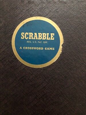 CLEAN VINTAGE 1948-1953 SCRABBLE Board Game Selchow