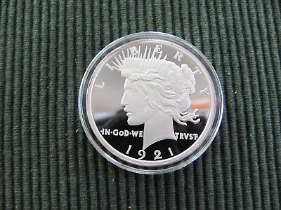 Vintage American Mint 1921 Silver Dollar Coin.