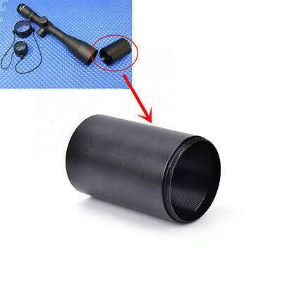 1X sunshade 40mm/50mm reduces glare sun reflectio  for scope black color LY