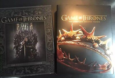Game Of Thrones: Complete Seasons 1 and 2 Blu-ray GOT