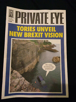 Private Eye magazines - 2018 - 20 issues - 1461-1480
