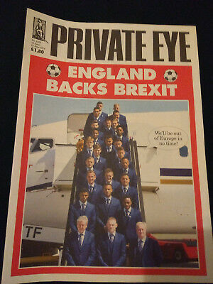 Private Eye magazines - 2015 - 2016 - 20 issues - 1399,1402-1420