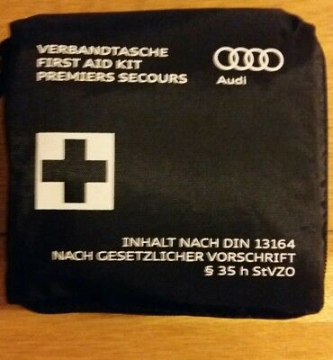 GENUINE OEM AUDI FIRST AID KIT,  NEW for Qs and Qbs