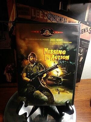 Chuck Norris in MISSING IN ACTION DVD -LIKE NEW - RARE OOP - 1984 Cannon Group