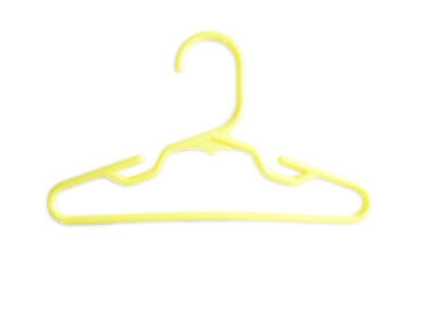 20 Yellow Plastic Doll Hangers Fits 18 Inch American Girl Doll Clothes