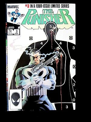 The Punisher #3. 1985.  Limited Series.  Vf/nm (9.0)