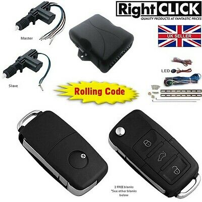 2 door Central Lock / Locking Kit Remote Keyless (Up-gradable to 4 doors)