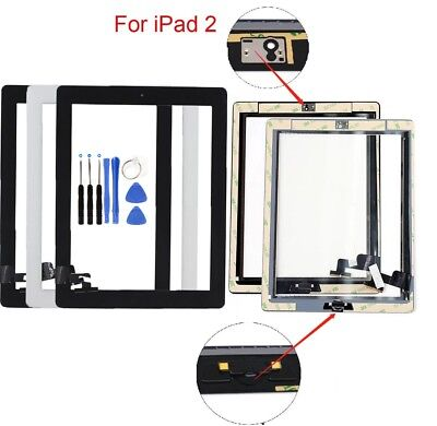 OEM Screen Glass Digitizer replacement for iPad 2 A1395 A1397 A1396 with tools