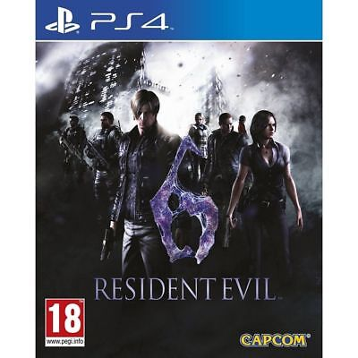 Resident Evil 6 PS4 PlayStation 4 Game PAL Version New Sealed In Stock