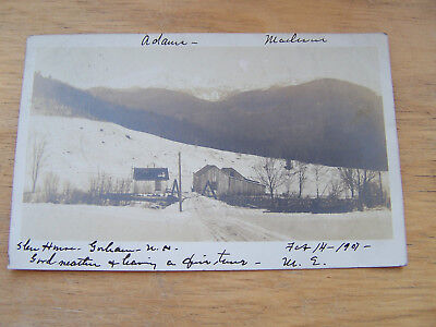 Postcard of Gorham New Hampshire Glen House Real Photo Card