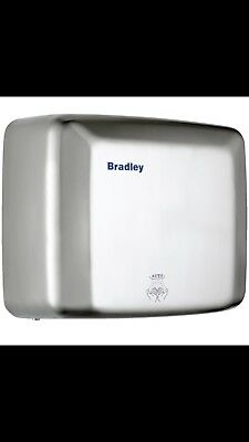 New Bradley 220-250A Hand Dryer Auto - Stainless Steel 270Mm