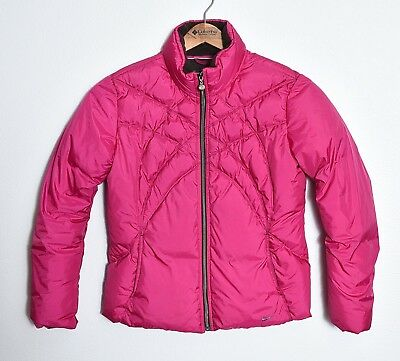 NIKE Womens Winter Snowboard Snow Quilted Duck Down Puffer Jacket Coat Sz L