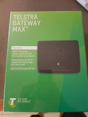 Telstra Gateway Max modem. New
