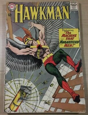 Hawkman #4 1st Zatanna! Big Key! Great Book! Dc Comics 1964