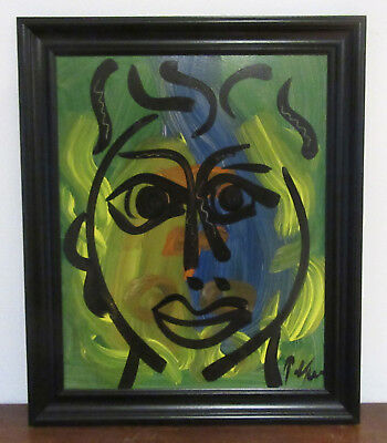 Peter Keil - SUPERB. Signed & Framed Oil Painting - Abstract - Listed Art COA