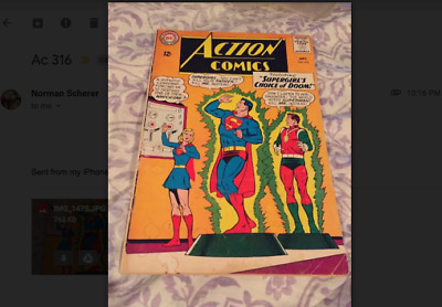 Action Comics #316 - Sept 1964 - Very Good