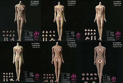 1:6 JIAOU DOLL Super Flexible Middle/Big Bust Female Body Dismantle Foot