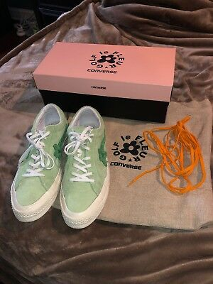 GOLF LE FLEUR Converse One Star Ox Jade Lime Mint Green Size 12 ... 3a17cba7ace
