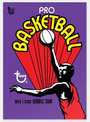 2018 Topps Wrapper Art #45 1972-1973 Basketball Card Only from Set #15 PR-247