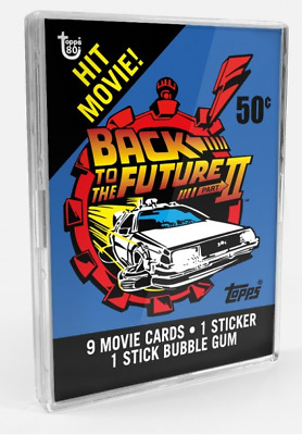 2018 Topps Wrapper Art Card #8 1989 Back to the Future 2 ONLY Print Run 213 Made