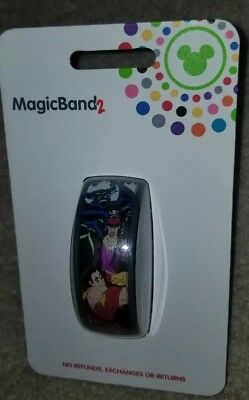 NEW Disney Parks Male Villains Magic Band 2 Blue Link It Later