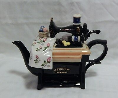 Cardew Design Large Sewing Machine Teapot