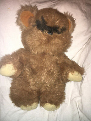 "1983 Star Wars Kenner "" Wicket The Ewok"" Plush Return of the Jedi STUFFED DOLL"
