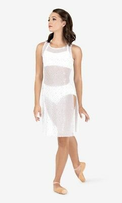 ab9faf8b8 Adult Sized Dance Costume - Sheer Mesh Overdress Tunic - Body Wrappers Brand