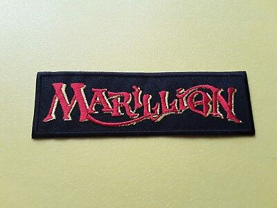 Marillion Patch Embroidered Iron On Or Sew On Badge