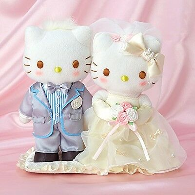 Sanrio Hello Kitty & Dear Daniel Wedding Doll (Pearl) from Japan With Tracking