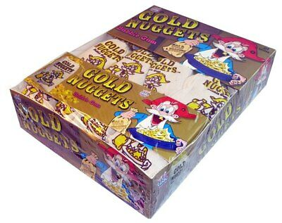 Gold Nugget Bubble Gum (24 pouches in a display unit)