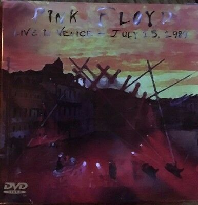 """Pink Floyd """"live In Venice"""" Rare Edition Double Cd + Dvd Neuf Emballe !"""